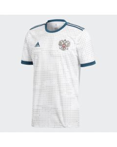 adidas Russia Away Jersey Mens 2018 - White - World Cup 2018