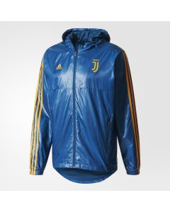 adidas Juventus 3S Windbreaker Jacket - Blue