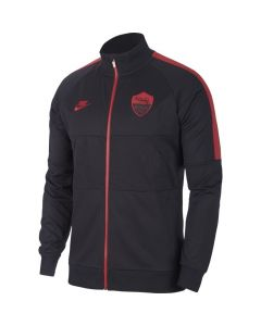 Nike A.S. Roma Mens I96 Jacket - Black/Red