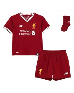 NB Liverpool Home Baby Mini Kit 2017/18 - Red