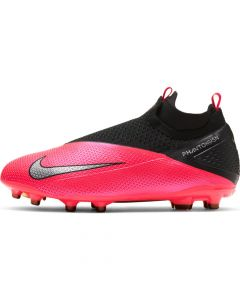 Nike Phantom Vision 2 Elite Dynamic Fit Multi Ground Soccer Cleats Junior - Laser Crimson - Future Lab PT1