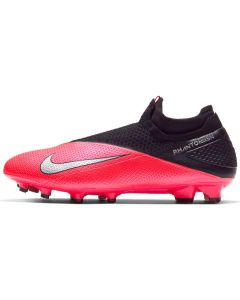Nike Phantom Vision 2 Elite Dynamic Fit Firm Ground Soccer Cleats Men - Laser Crimson - Future Lab PT1