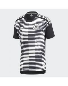 adidas Germany Home Pre-Match Jersey 2018 - White/Black