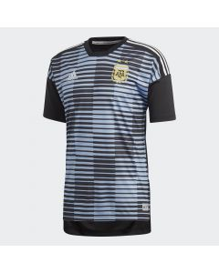 adidas Argentina Home Pre-Match Jersey 2018 - Blue/Black