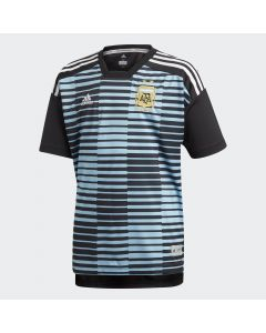 adidas Argentina Home Pre-Match Jersey Youth 2018 - Blue/Black