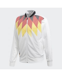 adidas Germany Country Identity Track Jacket - White/Black