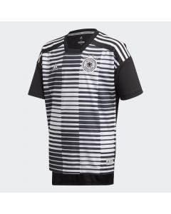 adidas Germany Home Pre-Match Jersey Youth 2018 - White/Black