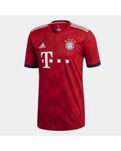 adidas Bayern Munich Home Authentic Jersey Mens 2018/19 - Red
