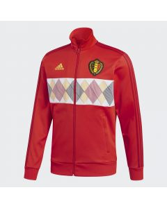 adidas Belgium 3-Stripes Track Jacket Men - Red