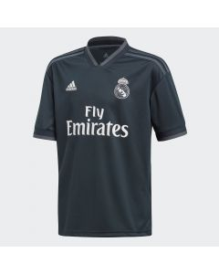 adidas Real Madrid Away Jersey Youth 2018/19 - Black