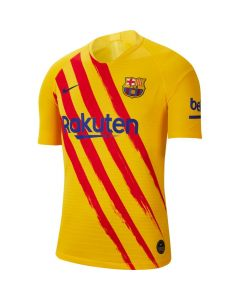 Nike FC Barcelona El Classico Vapor Match 4th Soccer Jersey 19/20-Gold Limited Edition