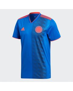 adidas Colombia Away Jersey Mens 2018 - Royal - World Cup 2018
