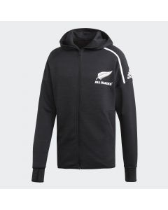adidas All Blacks Anthem Jacket - Black/White
