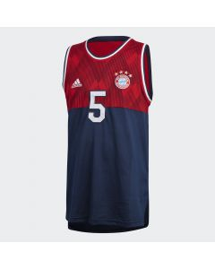 adidas Bayern Munich Seasonal Special Tank Top - Navy/Red