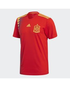 adidas Spain Mens Home Jersey - Red World Cup 2018