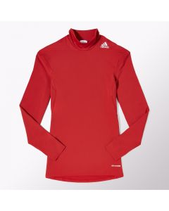 adidas TechFit Base Warm Mock - Red