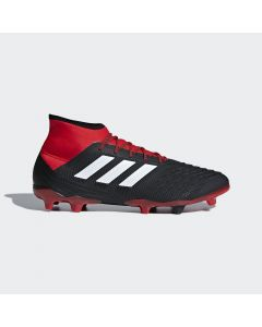 adidas Predator 18.2 FG - Black/Red - Team Mode