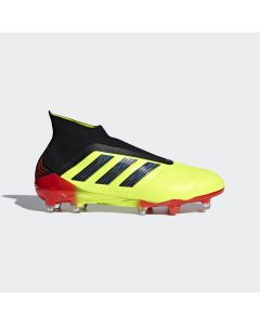 adidas Predator 18+ FG - Yellow/Black/Red - Energy Mode