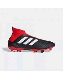 adidas Predator 18+ FG - Black/White/Red - Team Mode