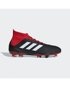 adidas Predator 18.1 FG - Black/Red - Team Mode