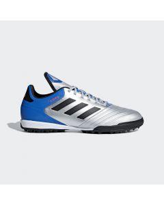 adidas Copa Tango 18.3 TF - Silver/Black/Blue - Team Mode