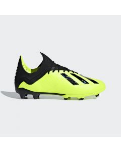 adidas X 18.1 FG Jr - Yellow - Team Mode