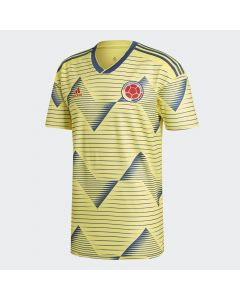 adidas Colombia Home Jersey Mens 2019/20 - Yellow - Copa America 2019