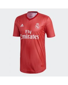 adidas Real Madrid Authentic 3rd Jersey Mens 2018/19 - Real Coral
