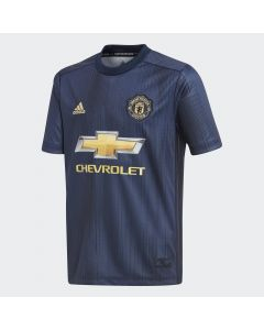 adidas Manchester United 3rd Jersey Youth 2018/19 - Navy
