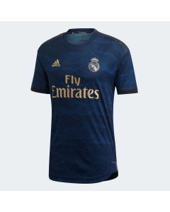 Real Madrid Mens Authentic Away Jersey 19/20-Navy