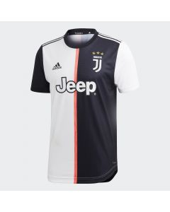 adidas Juventus Home Authentic Jersey 2019/20 - Black/White