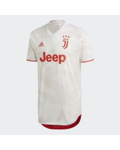 adidas Juventus Authentic Away Jersey Mens 2019/20 - White
