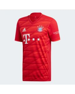 adidas Bayern Munich Mens Home Jersey 2019/20-Red