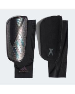 adidas X Foil Shin Guards-Black