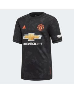 adidas Manchester United Youth third Soccer Jersey 2019/20-Black