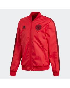 Manchester United Mens Anthem Jacket - Red/Black