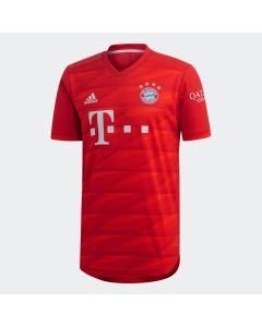 adidas Bayern Munich Mens Home Authentic Jersey 19/20-Red