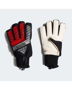 adidas Predator Ultimate Goalkeeper Gloves fingersave - black silver red