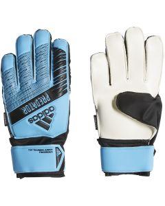adidas Predator Top Training Junior Fingersave Goalkeeper Gloves - Blue
