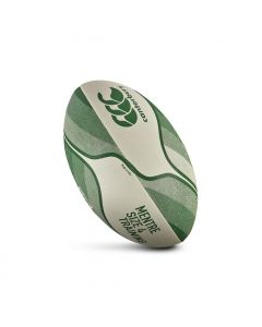 CCC Mentre Training Rugby Ball - White/Green