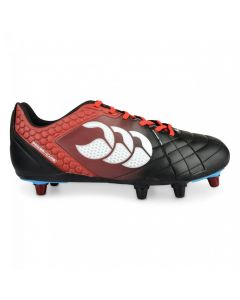 CCC Stampede Elite 8 Stud Cleats- Black/Red