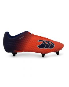 CCC Speed Elite 6 Stud Cleats - Orange/Navy