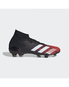 adidas Predator Mutator 20.1 Firm Ground Soccer Cleats Mens - Black/Red - Mutator Pack