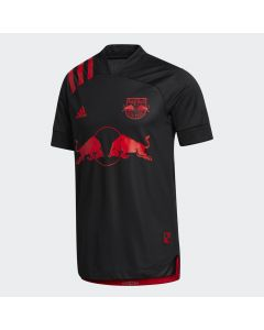 adidas NY Red Bulls Away Authentic Jersey 2020 - Black