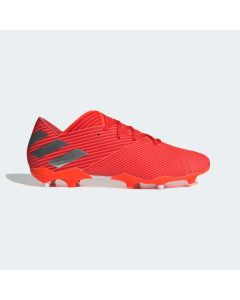 adidas Nemeziz 19.2 Firm Ground Soccer Cleats Mens - Red/Silver - 302 Redirect Pack