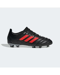 adidas Copa 19.1 Firm Ground Soccer Cleats Junior - Black/Red - 302 Redirect Pack