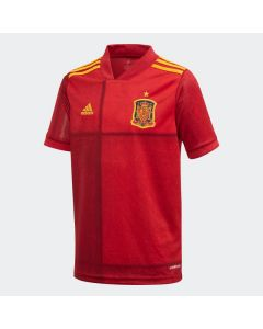 adidas Spain Youth Home Soccer Jersey 2019/20 - Red