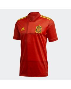 adidas Spain Mens Home Soccer Jersey 2019- Red