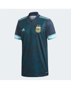 adidas Argentina Mens Away Soccer Jersey 2020- Navy blue