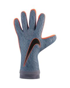 Nike Goalkeeper Mercurial Touch Elite Glove-Grey Silver Blue